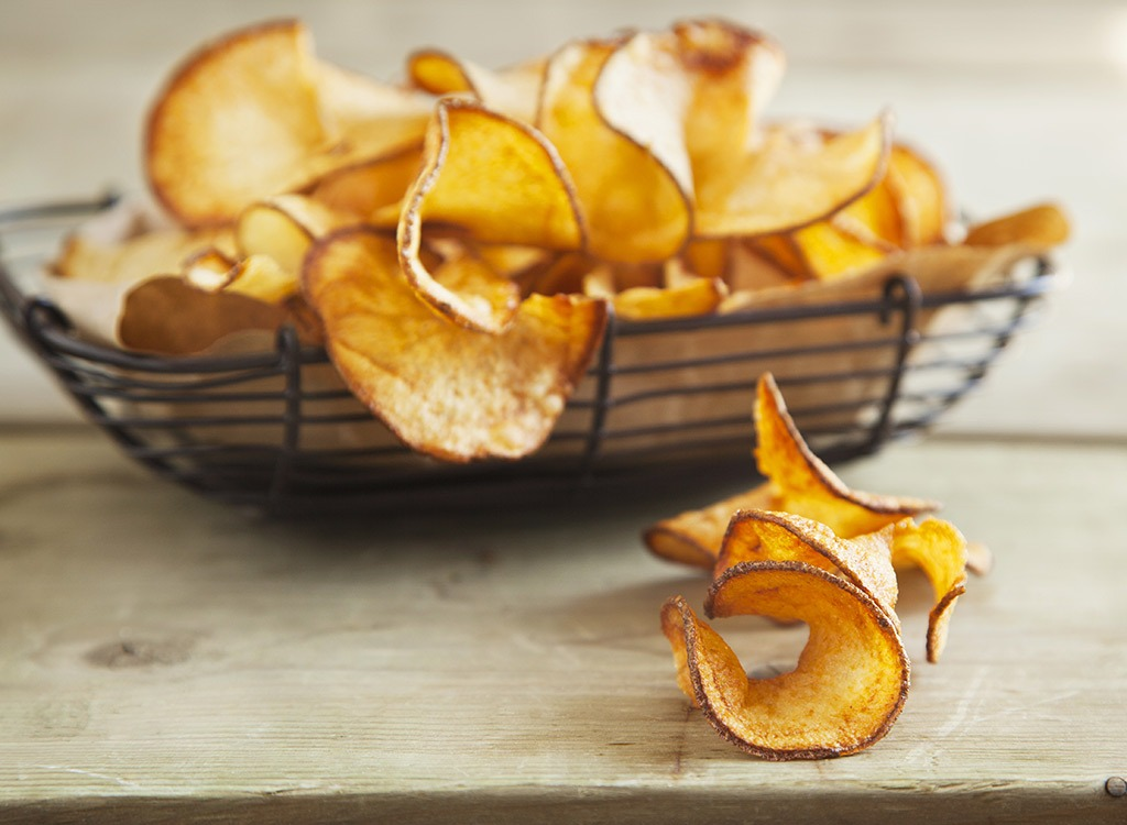 curly potato chips